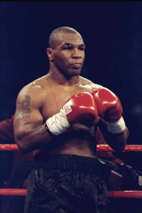El exboxeador estadounidense Mike Tyson es considerado uno de los grandes en la historia del pugilismo. Foto:Getty Images