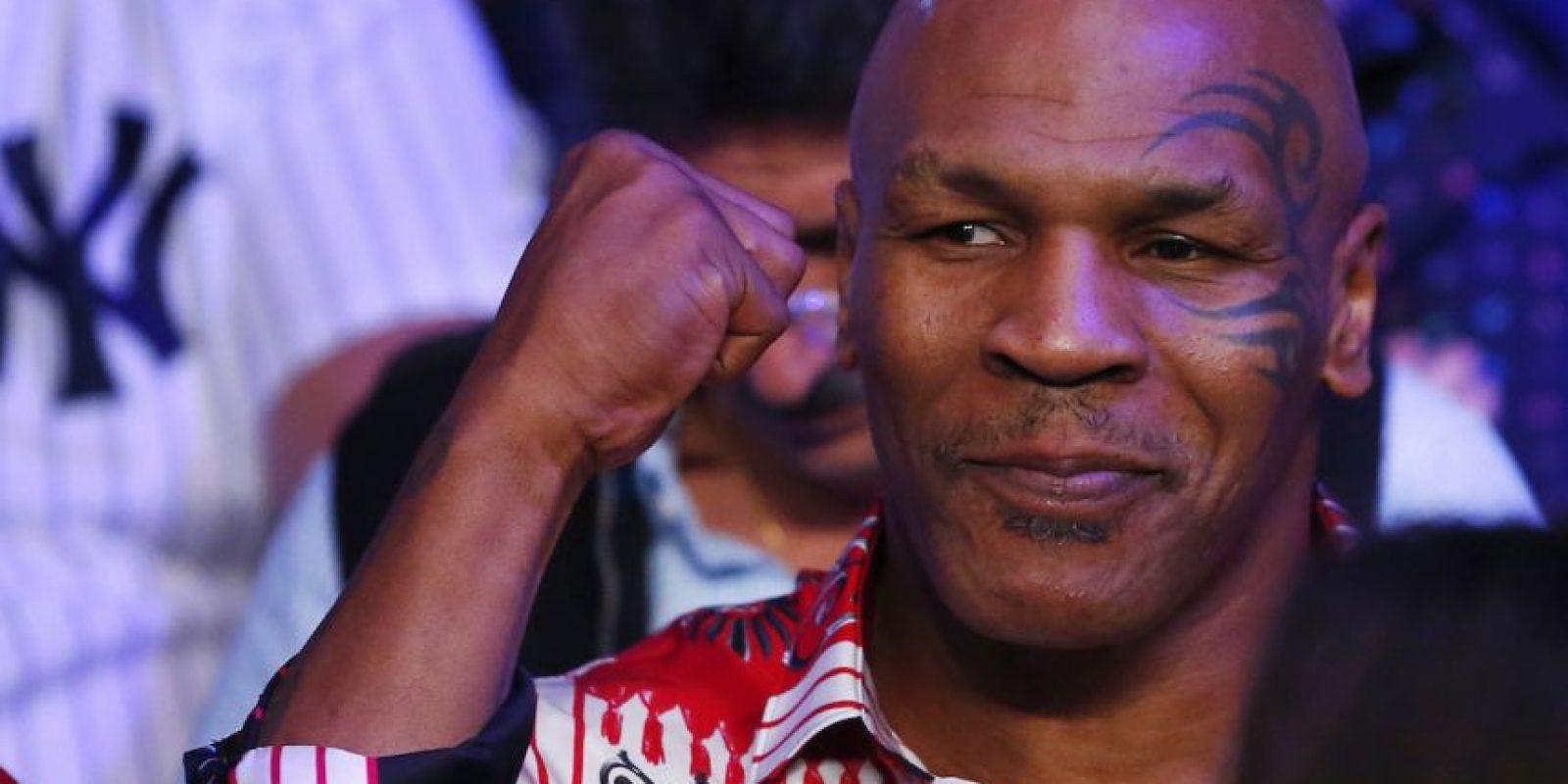 Tras declararse en bancarrota en 2003, Tyson lleva un estilo de vida más modesto, pero mantiene su polémica personalidad. Foto:Getty Images