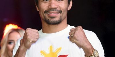 ¿Pacquiao peleará lesionado ante Mayweather?