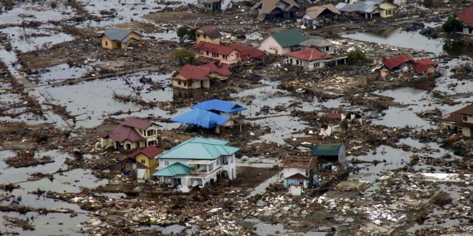 1. Indonesia, 2004. Magnitud 9.1. 229 mil muertos Foto: Getty Images