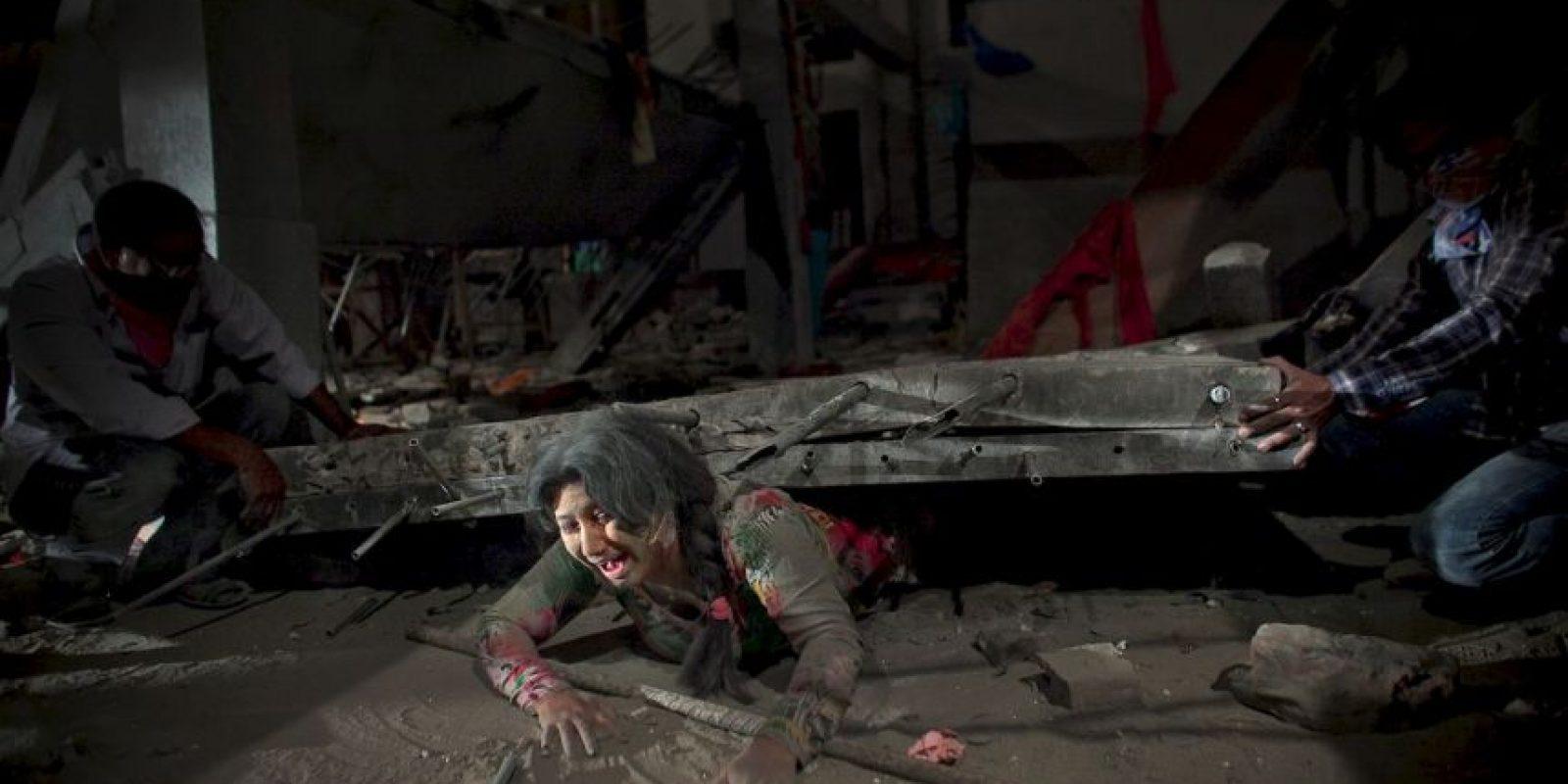 5. Colapso de plaza comercial en Dhaka, Bangladesh, 2013 Foto:Getty Images