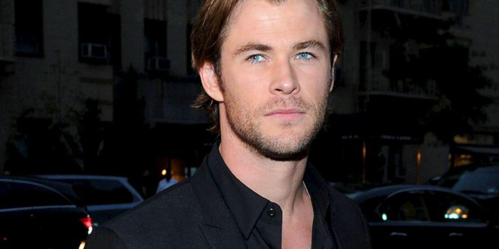 Chris Hemsworth interpreta al dios nórdico. Foto:vía Getty Images