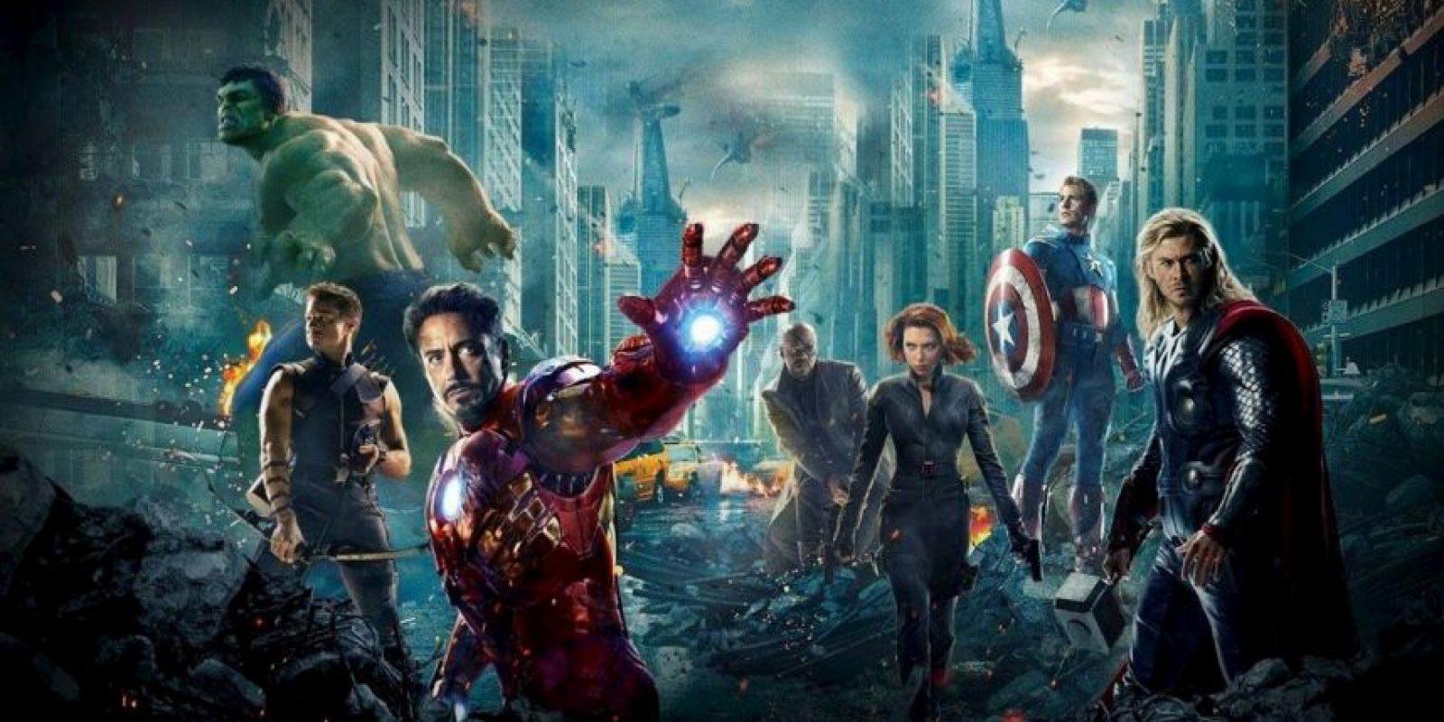 """¿Se imaginan si la película de """"Los Vengadores"""" se hubiese grabado en los años 80? Acá les tenemos el casting estelar. Foto:vía Marvel"""