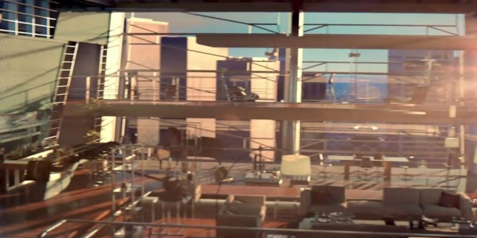 Puede ver la base de S.H.I.E.L.D. Foto:vía/Youtube Samsung