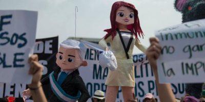 Estas son las fechas de las siguientes protestas contra Pérez y Baldetti