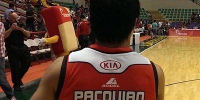 Pacquiao también practica el baloncesto. De hecho, el 2014 se inscribió a la liga profesional de Filipinas y se convirtió en jugador-entrenador de los Kia Sorento, un equipo nuevo. Foto:Vía instagram.com/MannyPacquiao