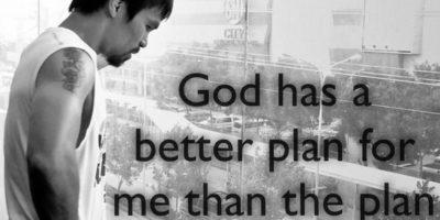 9. Porque es un hombre de fe. Foto:Vía instagram.com/MannyPacquiao