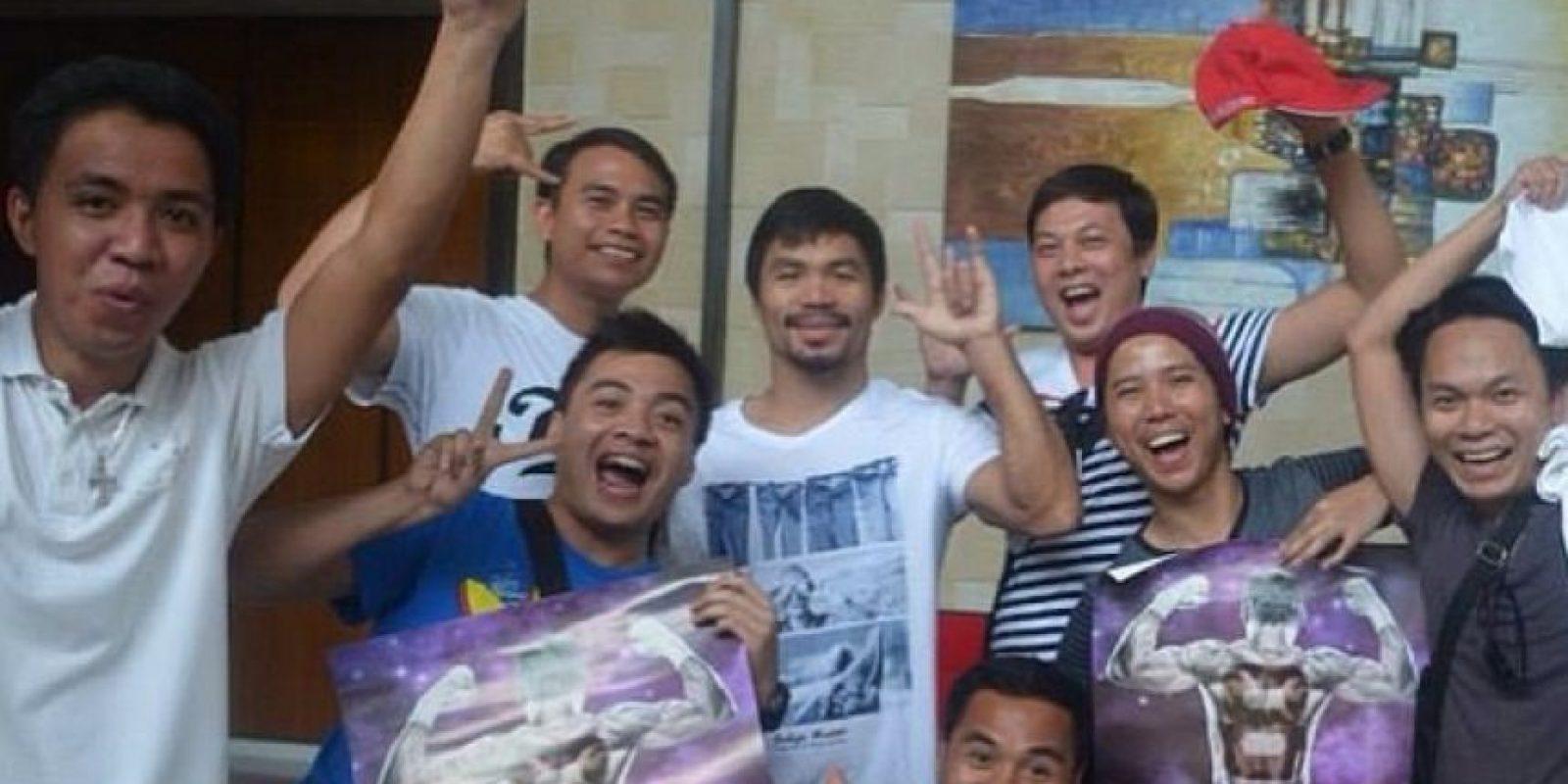 13. Porque no abusa de su fama. Foto:Vía instagram.com/MannyPacquiao