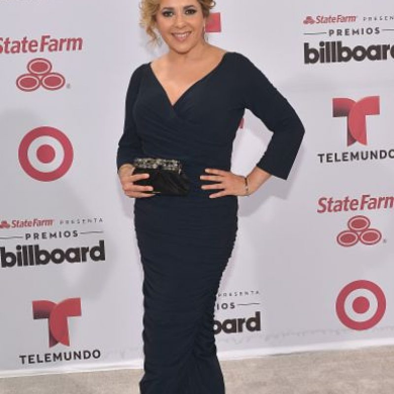 Ana María Canseco pudo hacerlo mejor. Pero para los desastres de esta noche, no está mal. Foto:vía Getty Images