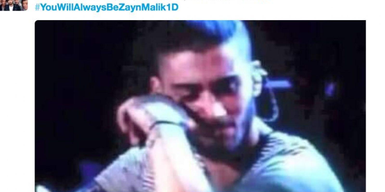 """Así han expresado su """"dolor"""" las fans de """"One Direction"""" por el cambio de cuenta de Zayn Malik Foto:vía Twitter"""