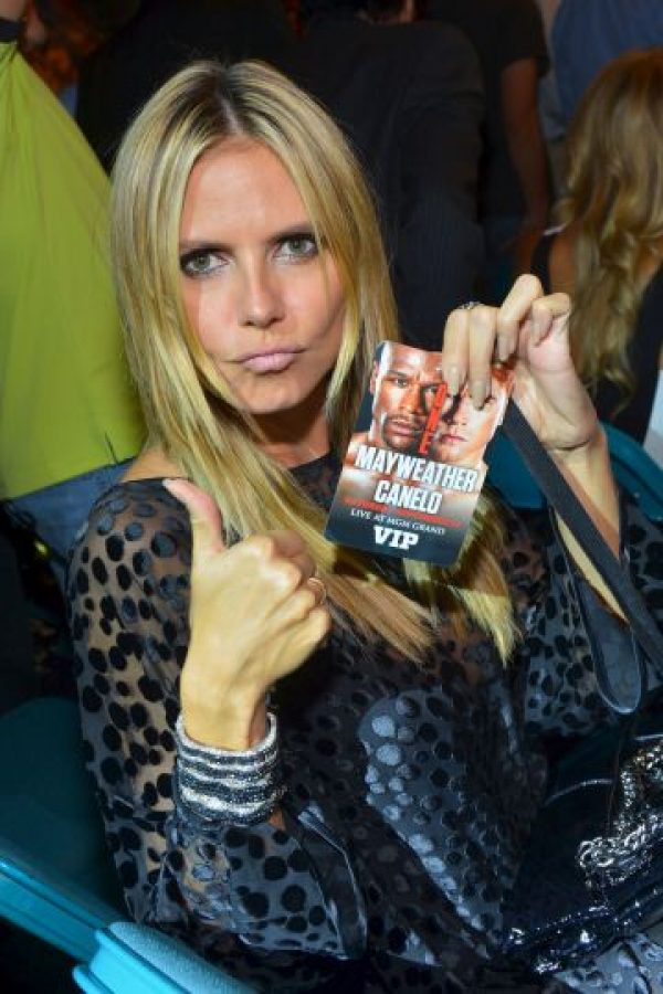 La modelo Heidi Klum Foto: Getty Images