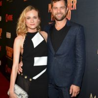 La actriz Diane Kruger y el actor Joshua Jackson Foto: Getty Images