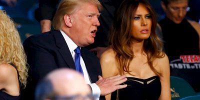 El magnate DOnald Trump y su esposa, Melania Trump Foto:Getty Images