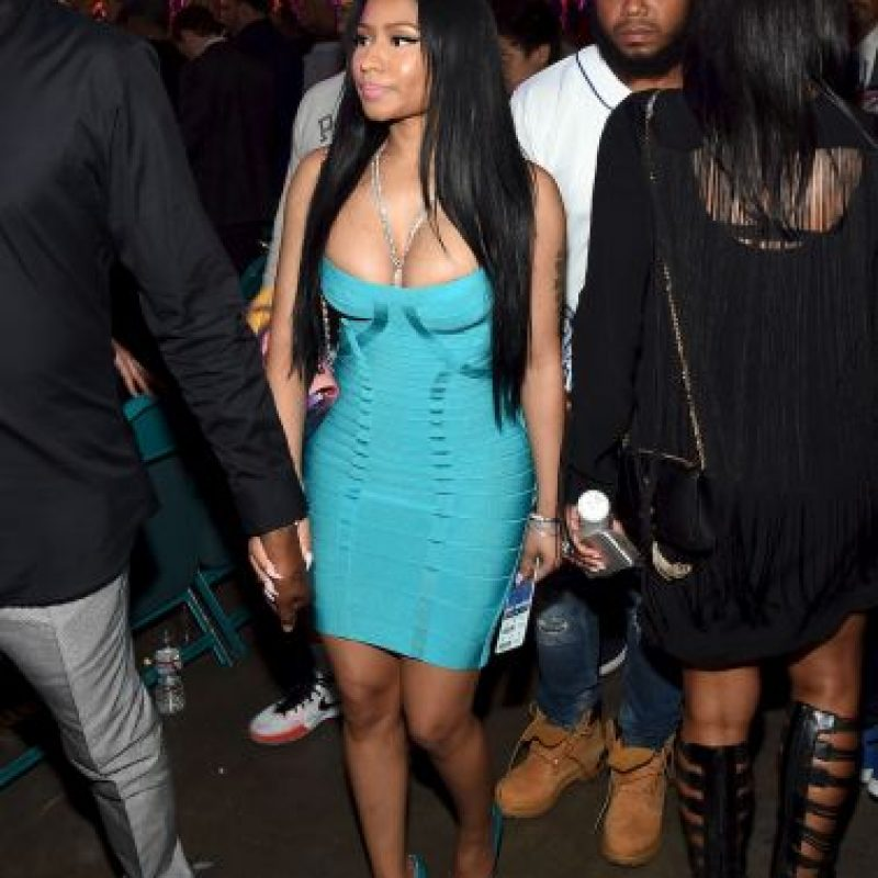 La cantante Nicki Minaj Foto: Getty Images