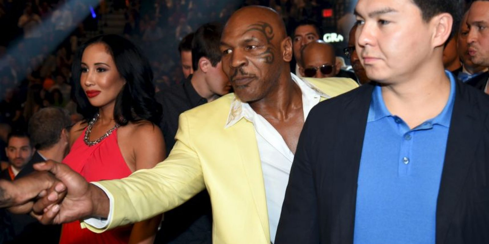 El exboxeador Mike Tyson Foto: Getty Images