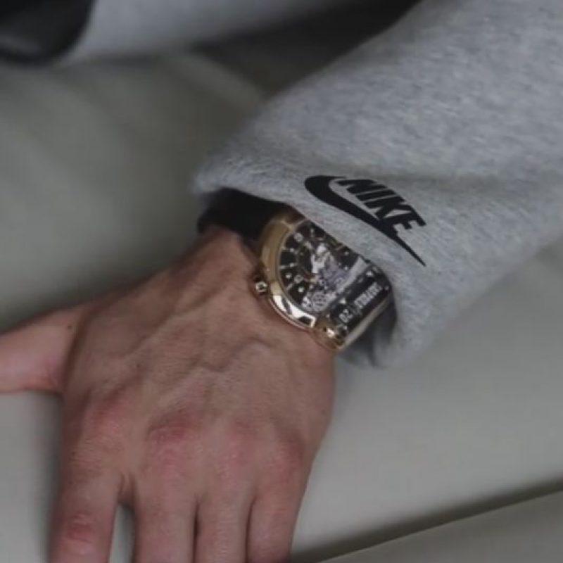 Otra afición del portugués: los relojes. Tiene una colección con más de 50 de ellos. Foto:Vía instagram.com/Cristiano