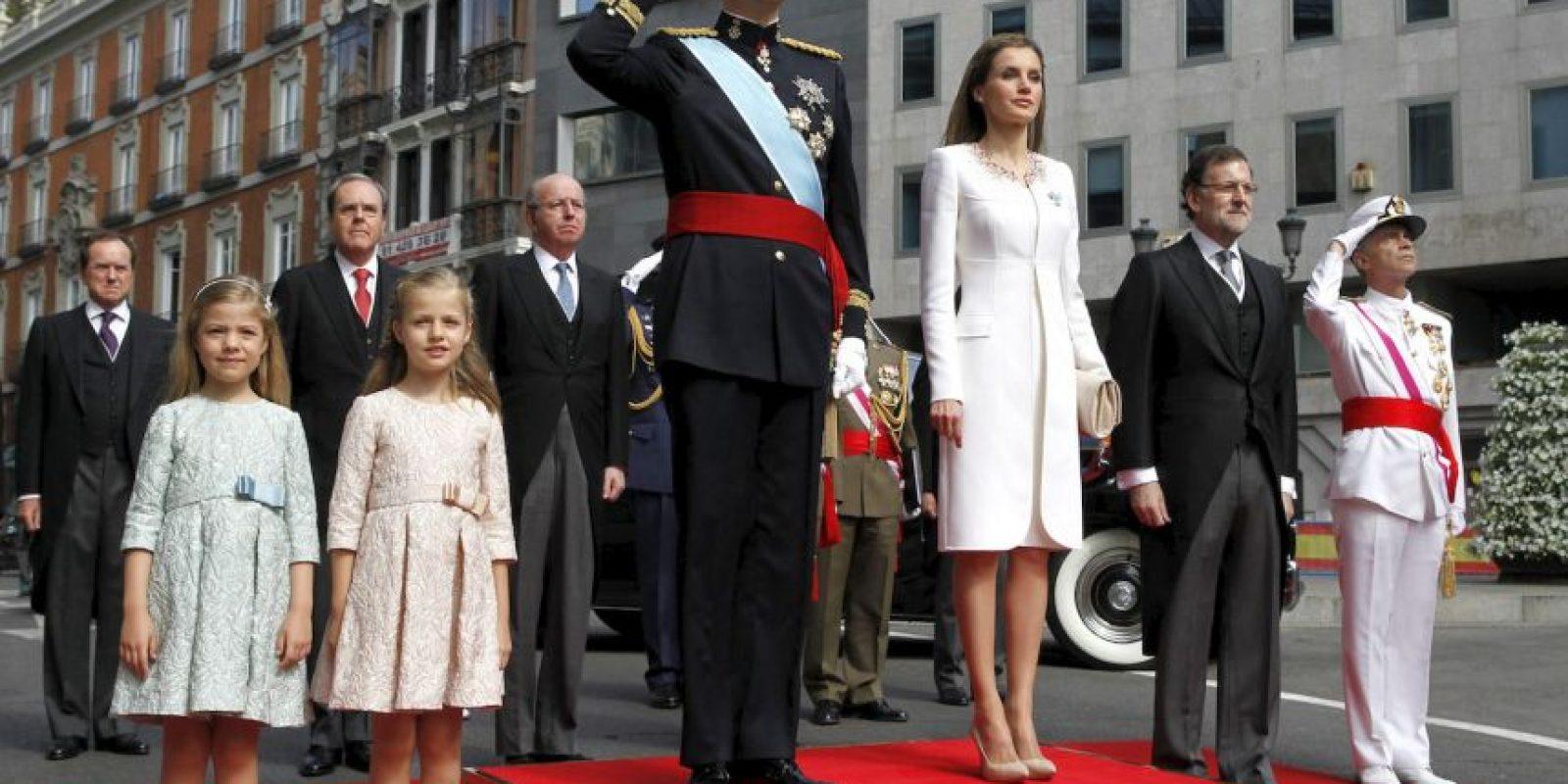 3. Princesa Leonor de Asturias (España)-Hija del rey Felipe VI y la reina Letizia de España. Es la primera hija de los reyes, tiene nueve años. Foto:Getty Images