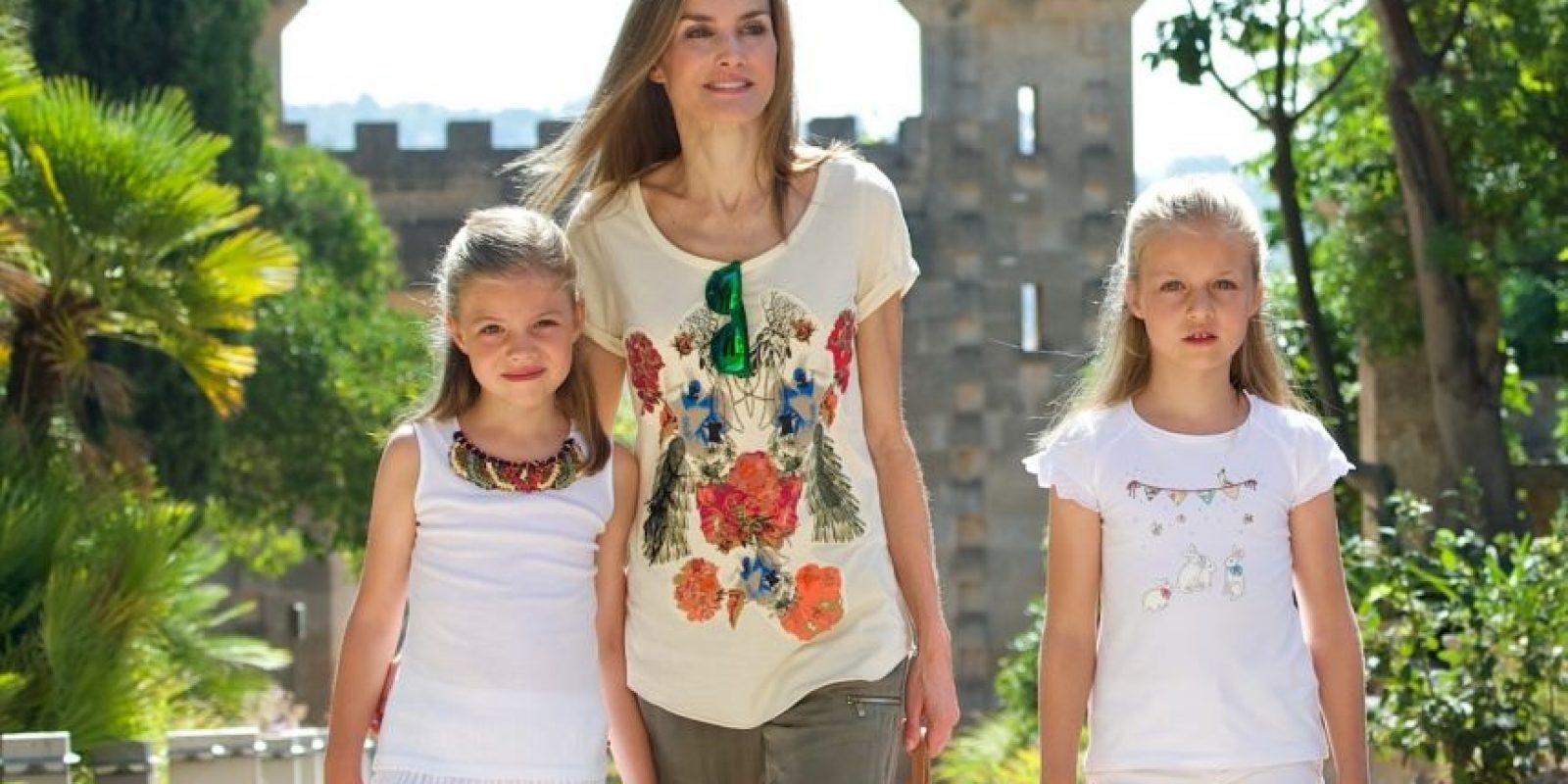 4. Infanta Sofía (España)- Hija del rey Felipe VI y la reina Letizia de España. Es la segunda hija de la pareja, tiene ocho años. Foto:Getty Images