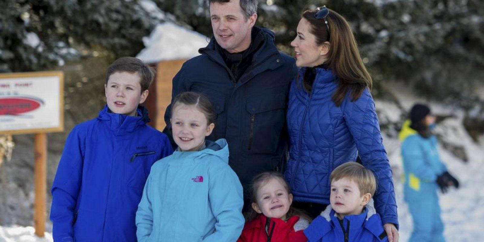 5. Príncipe Christian y la princesa Isabella (Dinamarca) Foto:Getty Images