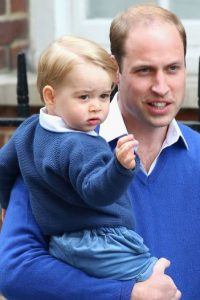 Es el primer hijo de los duques de Cambridge, el príncipe William y la princesa Catalina. Foto: Getty Images