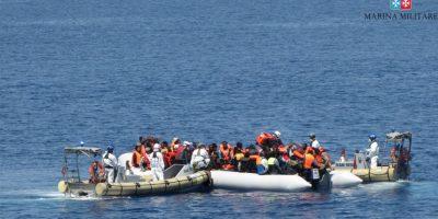Se espera que muchos más inmigrantes crucen en las próximas semanas. Foto:AFP