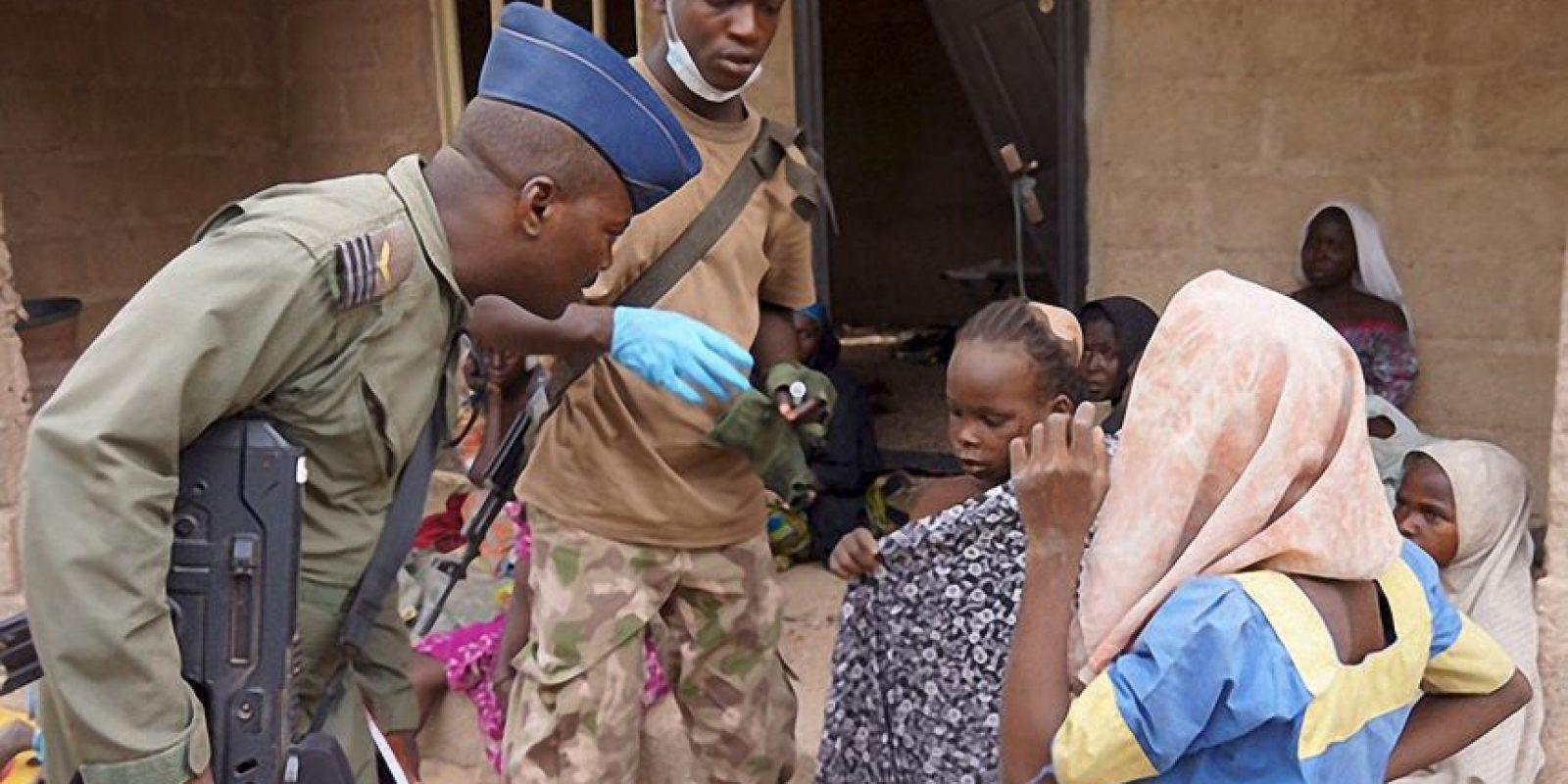 Dentro esa liberación no se encuentras el otro grupo de niñas capturadas el año pasado. Foto:AFP