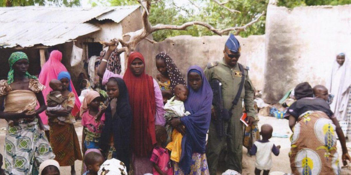214 mujeres liberadas de las manos de Boko Haram están embarazadas