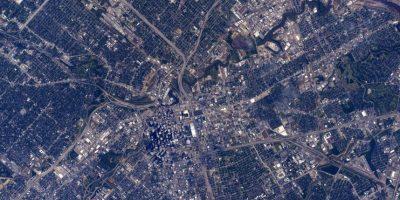"""""""Así luce Houston desde la Estación Espacial Internacional"""" Foto:Facebook.com/NASA-Astronaut-Scott-Kelly"""