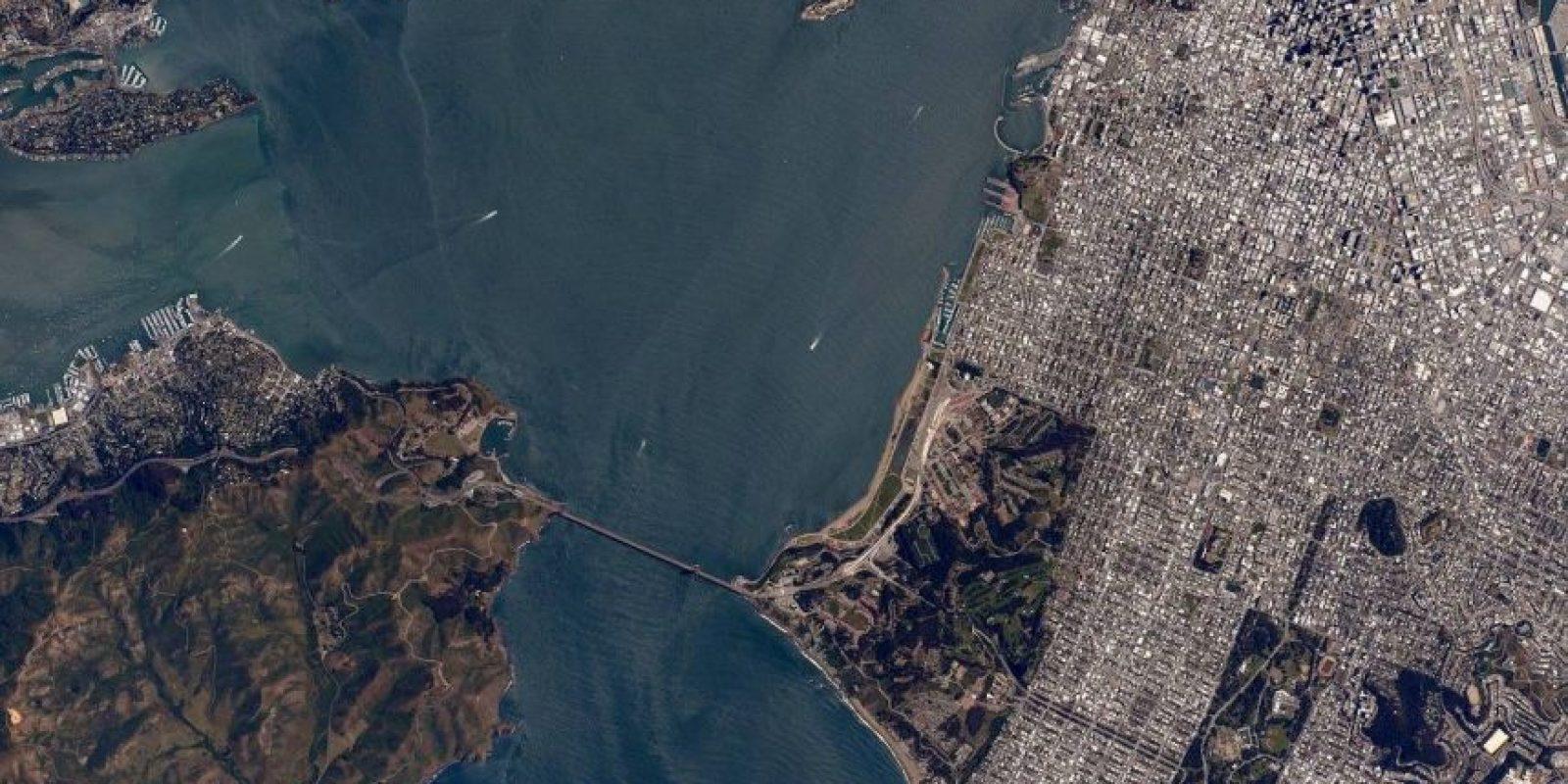 San Francisco, en California Foto:Facebook.com/NASA-Astronaut-Scott-Kelly