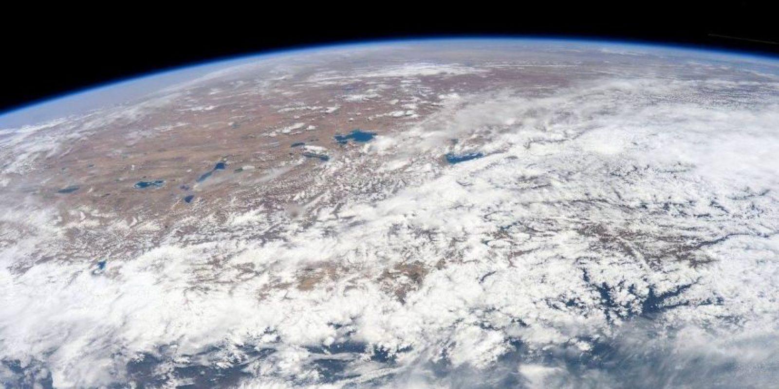 """""""Se ve tranquilo desde aquí, pero mi corazón está con las personas de Nepal"""", publicó el astronauta sobre el terremoto Foto:Facebook.com/NASA-Astronaut-Scott-Kelly"""