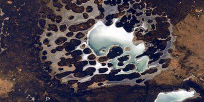 """""""A veces la Tierra parece otro planeta"""" Foto:Facebook.com/NASA-Astronaut-Scott-Kelly"""