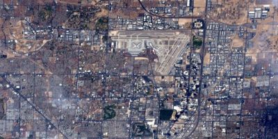 Las Vegas, justo antes de la pelea entre Mayweather y Pacquiao Foto:Facebook.com/NASA-Astronaut-Scott-Kelly