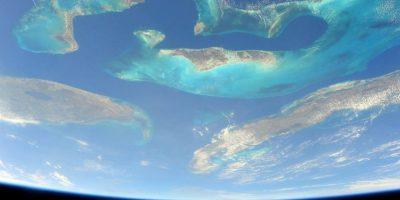 Así luce Bahamas Foto:Facebook.com/NASA-Astronaut-Scott-Kelly