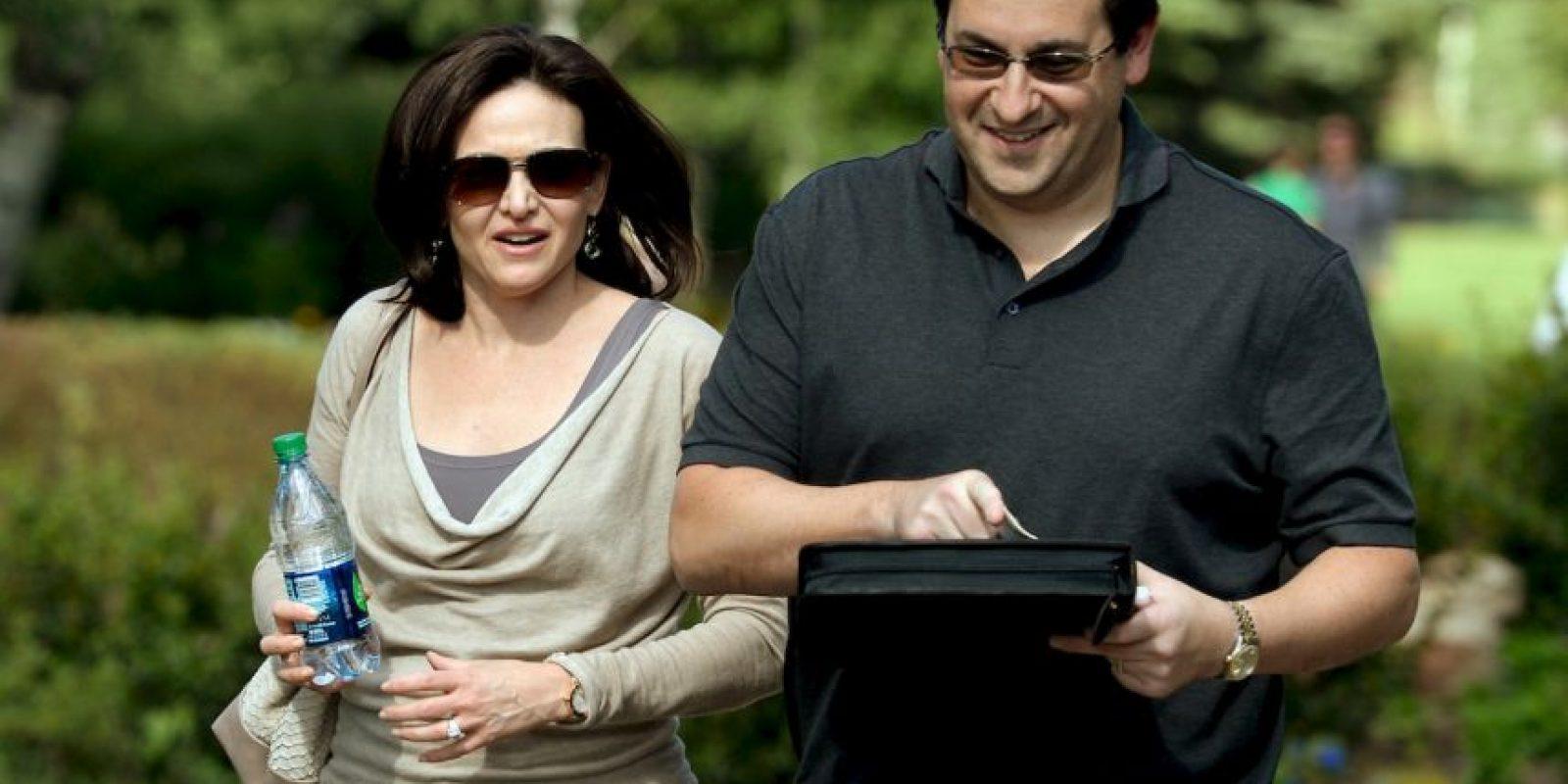Dave Goldberg y Sheryl Sandberg se conocieron en Silicon Valley mientras trabajaban para Facebook Foto:Getty Images