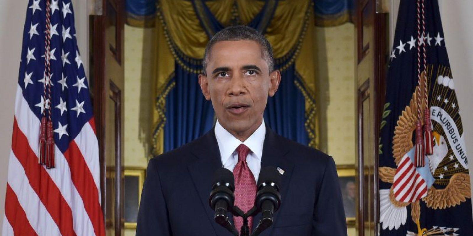 7. Barack Obama es el tercer presidente que recibe el Premio Nobel durante su mandato. Foto:Getty Images