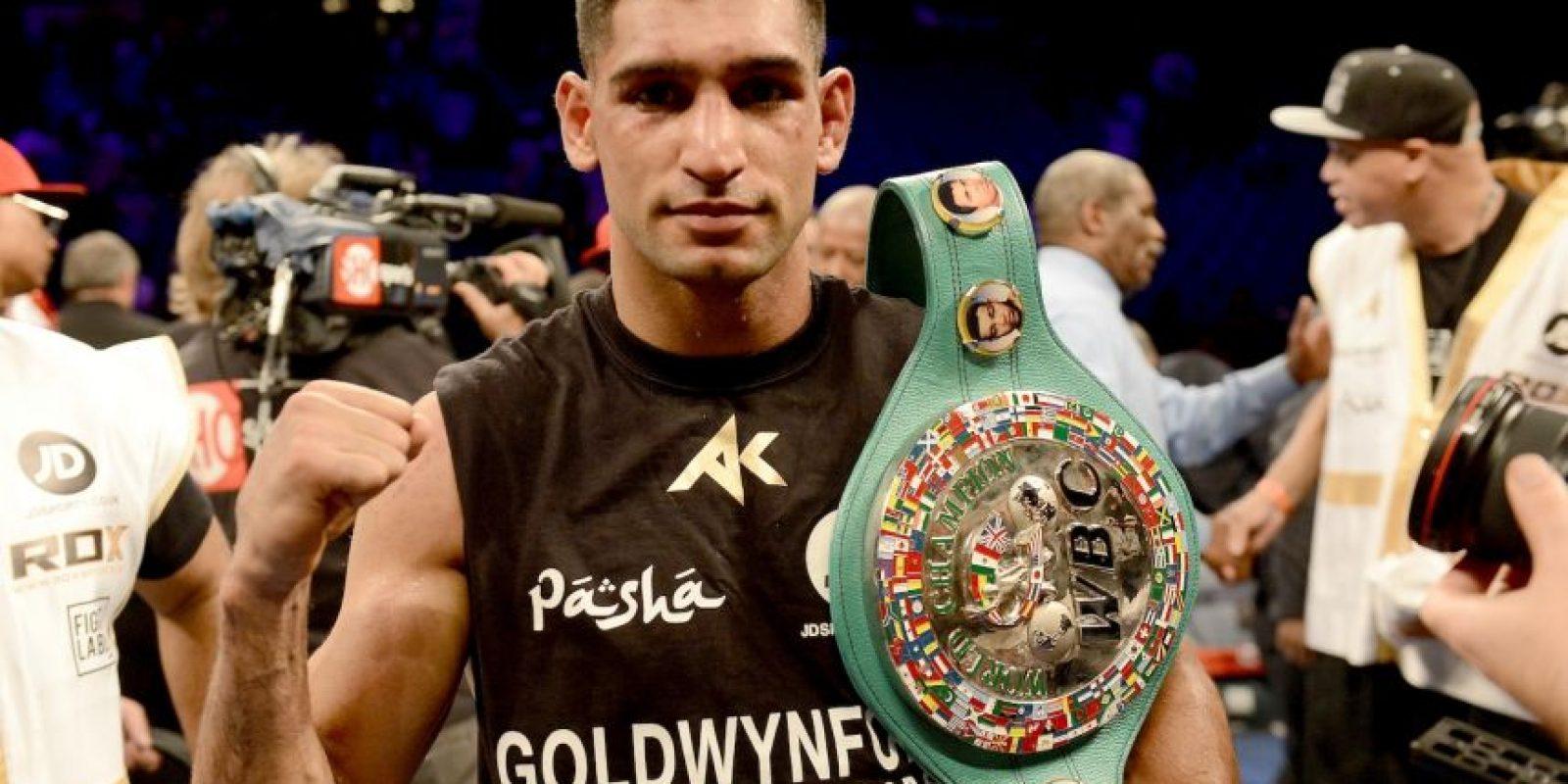 Comenzó su carrera en el pugilismo a temprana edad y a los 17 años, consiguió la plata olímpica en box para el Reino Unido en Atenas 2004. Foto:Getty Images