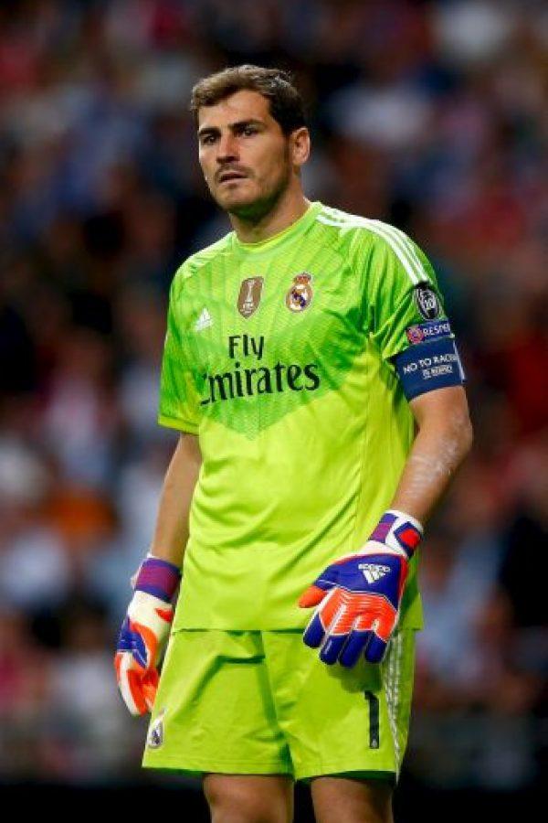 Por su parte, Iker Casillas tendrá la responsabilidad de mantener su arco en cero ante los embates de la Juventus. Foto:Getty Images