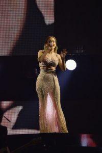 Motivo que al parecer provocó que la cantante abandonara el lugar. Foto:Getty Images