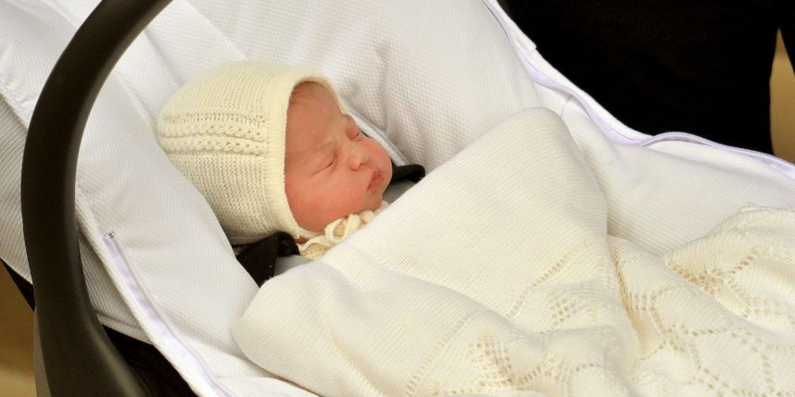 La princesa Carlota Isabel Diana nació el sábado 2 de mayo Foto:Getty Images