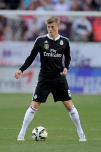 El alemán Toni Kroos manejará el medio campo del Real Madrid. Foto:Getty Images