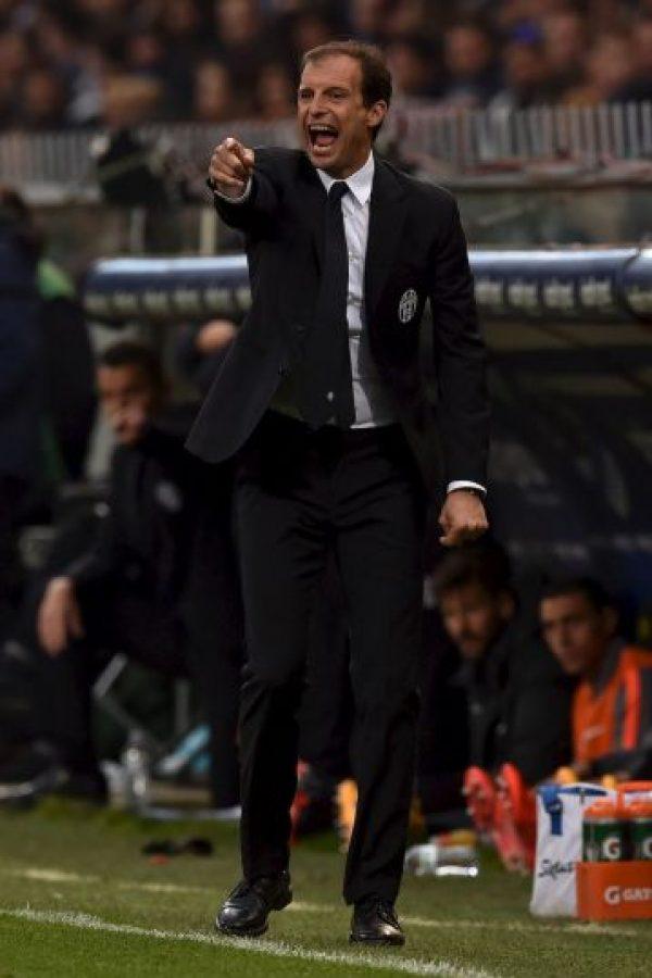 Massimiliano Allegri ya es campeón de la Serie A italiana, ahora busca el título de la Champions. Foto:Getty Images