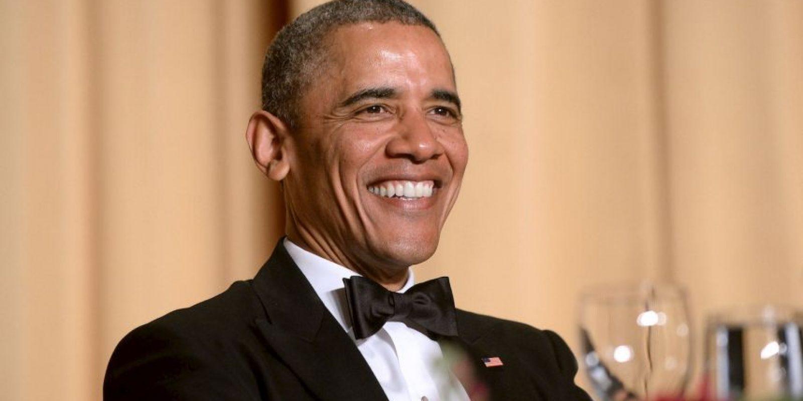 2. Este aseguró que desea luchar contra el cambio climático junto con su esposa Michelle Obama. Foto:Getty Images