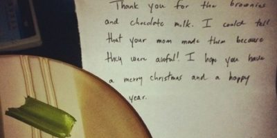 "La carta ""troll"" de Santa Claus. Foto:vía Imgur"