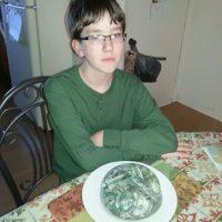 """El niño quería """"dinero frío"""". Se lo dieron. Foto:vía Imgur"""