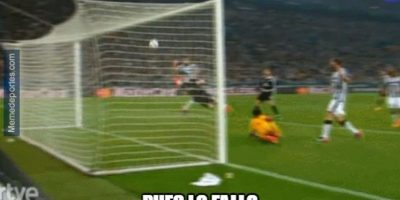 La lógica de James Rodríguez. Foto:memedeportes.com