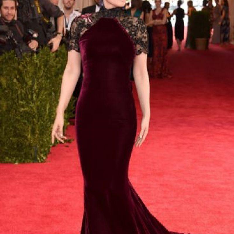 Gong Li, elegante. Pero se esperaba más. Foto:vía Getty Images