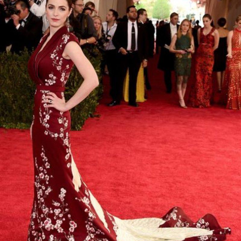¿Qué tal la cola del vestido? Foto:vía Getty Images