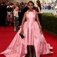 Kerry Washington y su vestido de 15 años. Foto:vía Getty Images