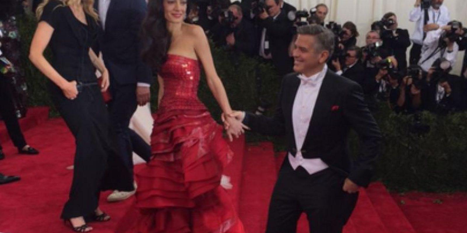 Amal Clooney es un emoji. Foto:vía Getty Images