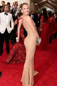 Así llegó Candice Swanepoel. Foto:vía Getty Images